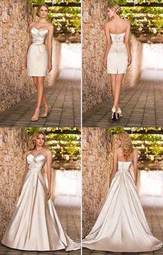 60f5da71c Las 8 mejores imágenes de Vestidos de novia convertibles