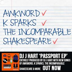 "DEF!NITION OF FRESH : DJ J Hart ft. K. Sparks, AWKWORD & Shakespeare - Love Is Better...DJ J Hart recruits K. Sparks, AWKWORD & Shakespeare for ""Love Is Better"", track 15 off J Hart's Passport EP, presented by DJ Booth, and also featuring Sean Price, Inspectah Deck, J57 and Audible Doctor of Brown Bag AllStars, Nutso, Napoleon Da Legend, Archie Bang, SkyBlew, HD Been Dope, Rick Quick and more."