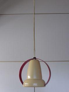 Rare Perriand Philips Pendant Lamp 1940s Art Deco Bauhaus Retro Mid Century