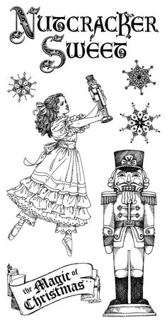 Nutcracker Free Coloring Pages