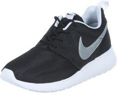 Nike Roshe Run Youth GS calzado negro plateado