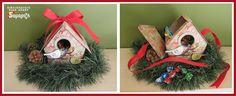 Κουτάκι δώρου για μικρά κεράσματα.#ΧΑΛΚΙΔΑ #ΣΑΜΑΡΤΖΗ #ΣΤΟΛΙΔΙΑ #ΧΕΙΡΟΤΕΧΝΙΕΣ #ΒΙΒΛΙΟΠΩΛΕΙΟ #HOBBY #ΧΡΙΣΤΟΥΓΕΝΝΙΑΤΙΚΟ