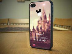 Disney Mickey Mouse Magic Kingdom Phone Case IPhone 4/4S, 5/5S/5C, 6/6 Plus