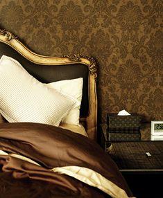 Golden Brown Bedroom