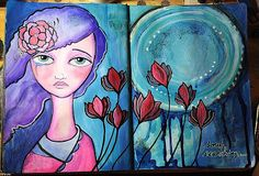 PanArt: Soul Searching - PanArt Mixed Media Art Journal Tu...