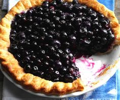 This is not only the easiest blueberry pie recipe ever; I think it's the best! Instead of baking, you simply coat plump fresh blueberries with a scrumptious blueberry glaze (that takes just 5 minutes to make!) and spoon the mixture into a baked pie shell. That's it!! The freshness of …