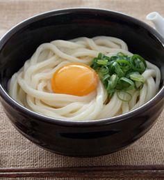 釜玉風うどん Asian Recipes, Real Food Recipes, Yummy Food, Ethnic Recipes, Japanese Dishes, Japanese Food, Keto Chili Recipe, I Want Food, Vegan Foods