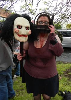 Me as Amanda from SAW at OSS Cleveland Charity Zombie Walk 12'