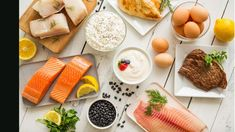 There is a protein-packed food out there for everyone. That's why we've compiled a list of the best lean protein options across every food category. Protein Desserts, High Protein Recipes, Diet Recipes, Healthy Recipes, Healthy Snacks For Diabetics, Healthy Foods To Eat, Healthy Eating, Breakfast Healthy, Healthy Snacks