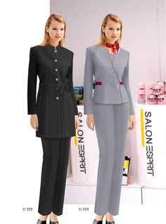 Hot Tailored Good Quality And Inexpensive Hotel Staff Uniform - Buy Hotel Staff… Spa Uniform, Hotel Uniform, Office Uniform, Best Uniforms, Staff Uniforms, Dental Uniforms, Restaurant Uniforms, Corporate Uniforms, Suits For Women