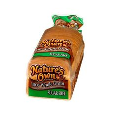 Nature's Own Breads are made with premium ingredients that are carefully combined in our special recipes and then baked to perfection in our ovens. If the Nature's Own name is on the package, you're certain to find great-tasting breads inside! Enjoy! From the Flowers Family of Bakers. How good can sugar-free bread taste? Just ask the thousands of consumers who have made this one of their best-sellers. Nature's Own Sugar Free 100% Whole Grain offers the nutritional benefits of ...