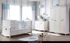 nice Mavi bebek odası modelleri 2016