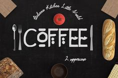 Coffee 2 Fonts By JasmeenPetit