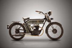 The Black Douglas Motorcycle