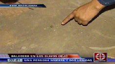 Los Olivos: Asesinan a balazos a dos personas en losa deportiva