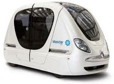 The Personal Rapid Transit System at Masdar City Futuristic Vehicles, Futuristic Cars, Transportation Technology, Future Transportation, Rapid Transit, City Car, Smart City, Light Rail, Electric Cars