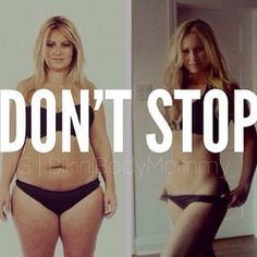 Bikini Body Mommy Don't Stop!
