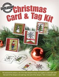 Exclusive Christmas Card and Tag Kit | Archivers Annex (with Tim Holtz stamps)