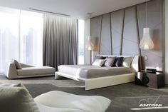 16. This bedroom in a home in Johannesburg, South Africa, designed by SAOTA and ARRCC.