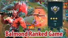 Mobile legends : balmond ranked game mobile moba