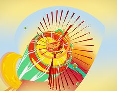 """Check out new work on my @Behance portfolio: """"Open Titles """" Sumol Summer Fest 2015 """" """" http://on.be.net/1IV3xD8"""