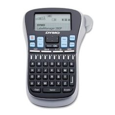 DYMO Label Manager LM260P label Printer, Black /Gray (1754490) by DYMO. $47.40. Eliminate the inconvenience of AA batteries - just charge and go with this sleek, ultra-convenient label maker. Packed with new features inspired by LabelManager users to help you get the results you want with more ease and convenience. The large 1 1/5 x 2 1/3 Inches screen displays two lines of label text. Plus, the graphical display lets you see text effects onscreen before you print. Works faste...