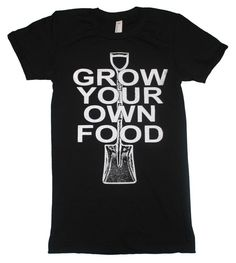 Amazon.com: Happy Family Grow Your Own Food Womens T-Shirt: Clothing