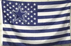 Dallas Cowboys With US Stripe Star Flag (3ftx5ft) Price: 	$10.46
