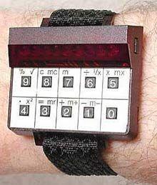 1977 Sinclair Kit LED Calculator Watch