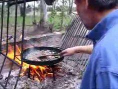 Cocina al disco de arado - YouTube