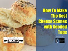 Ingredients: 225g plain flour Pinch salt 50g unsalted butter (at room temperature and cut into cubes) 1tsp baking powder 50g mature cheddar cheese (grated) + extra for the top 75ml milk 1 beaten egg for glazing the top of the scone ½ tbsp. poppy seeds ½ tbsp. sunflower seeds