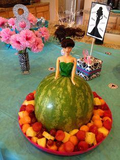 Barbie fruit watermelon dress