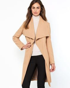 Shop for Shawl Collar Belted Coat by Laura Clement at ShopStyle. Belted Coat, Get The Look, Street Style Women, Duster Coat, Wool, Jackets, Shopping, Shawl, Fashion
