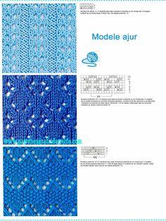 Libro de 72 Patrones de Puntos Dos Agujas / imágenes y archivo PDF para descargar | Crochet y Dos agujas