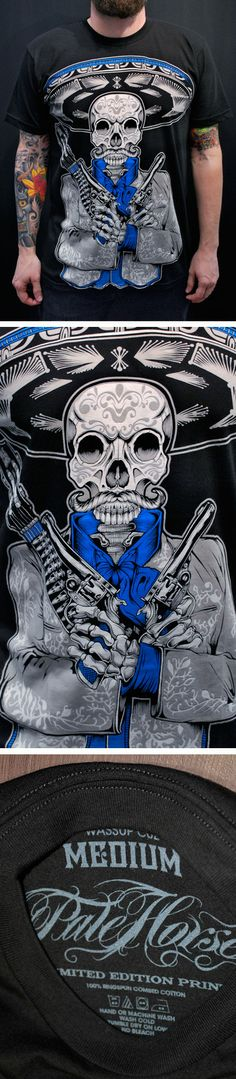 ✿★✝☮ SKULL ✝☯★☮ Pale Horse Design - Official storefront powered by Merchline Pale Horse, Day Of The Dead Art, Store Fronts, Skulls, Art Photography, Shirt Designs, Horses, Tattoos, Fine Art Photography