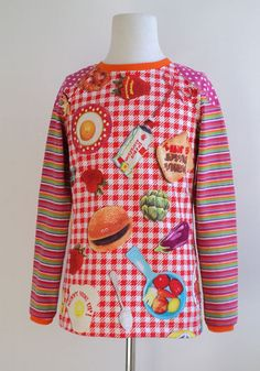 No I didn't make this one, just love the amazing #Oilily #Hamburger #fabric    #Handmade #Dawanda #Children #Clothing #Kidsapparel