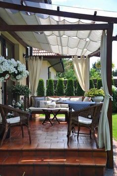 # backyard 28 creative ways to cover your patio 0 ., 28 creative ways to cover your patio 00028 When age-old in notion, the particular pergola have been encountering somewhat of a modern day rebirth these days. Outdoor Pergola, Outdoor Rooms, Outdoor Living, Outdoor Decor, Pergola Kits, Pergola Lighting, Cheap Pergola, Wooden Pergola, Diy Pergola