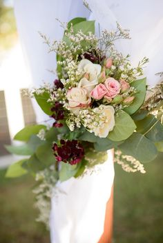 Pomegranates & Berries, Rustic Glam, Wedding Inspiration|Photographer: The Amburgeys