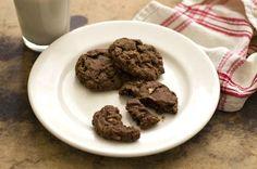 spicy chocolate pecan cookies