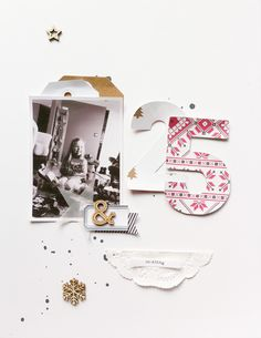 #papercraft #scrapbook #layout. Twenty Five And Counting by ChantalPhilippe at @studio_calico