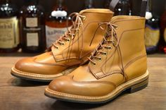 Trickers for Leather Soul Hawaii Austerity Stow boot