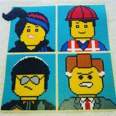 #Lego_Movie by nicolebe85 #perler #beads #bead #hama #beadswork