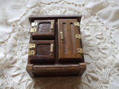 Vintage Dollhouse furniture by RuneFinds.etsy.com $9.00