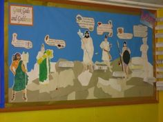 Greek Gods and Goddesses Display