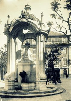 Chafariz do Carmo, Lisboa, 1929