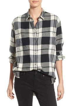 A trendy flannel is a must for the fall wardrobe.