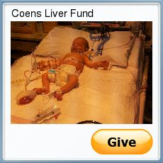 Help support Coen, who suffers from Biliary Atresia.