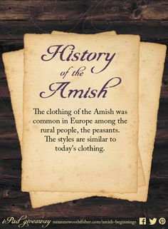 Amish History –– Anna's Crossing