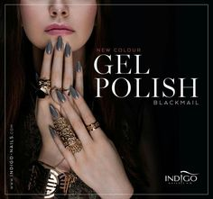 Heb je onze nieuwe Blackmail mini Gel Polish al? http://www.indigo-nails.nl/nl/3122-blackmail-gel-polish-mini.html