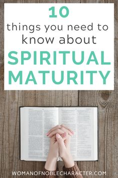 What it means to be spiritually mature and 11 characteristics that you are or are becoming spiritually mature including relevant scripture. Christian Wife, Christian Faith, Christian College, Christian Living, Women Of Faith, Faith In God, Woman Quotes, Quotes Women, Faith Scripture